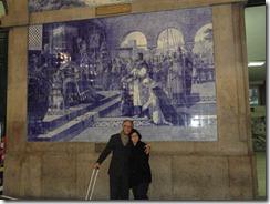 Beto e Helen em Lisboa