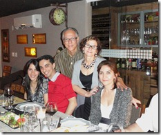 Irani, Carlos e Fernanda