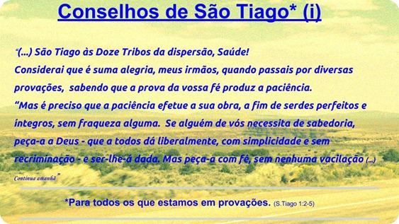 Conselhos de São Tiago (i)