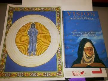 Hildegard de Bingen, santa e doutora da Igreja, mulher antecipadora e visionária