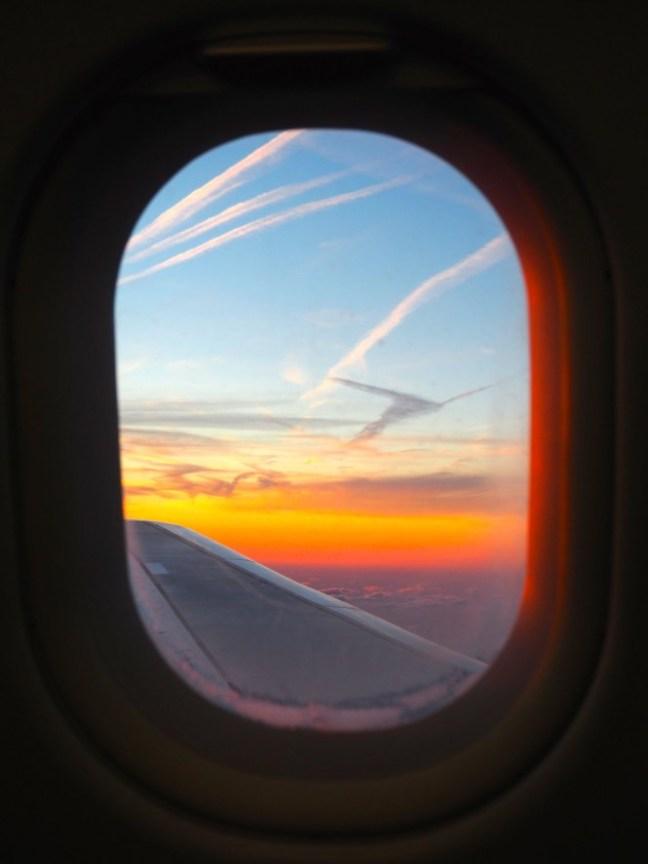 Sunset over the clouds in Holland ©2014 luciledegodoy.com