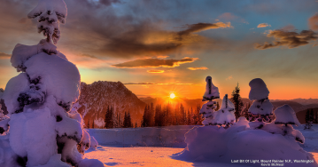 Sunset (c) foto Webshots.com, by Kevin McNeal