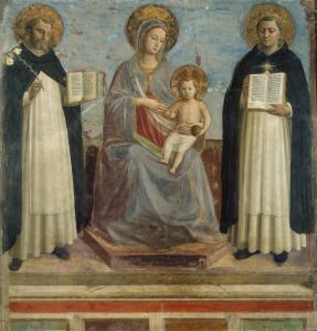 A Virgem e o Menino Jesus Com Santos2