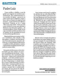 Carta ao Popular, Goiânia