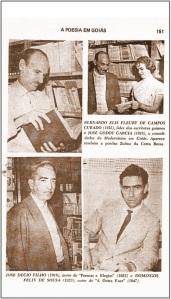 José Décio e outros em A Poesia em Goiás