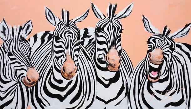 Zebras de Josh Brown