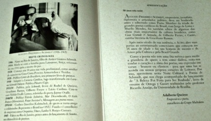 Homenagem a Augusto Frederico Schmidt