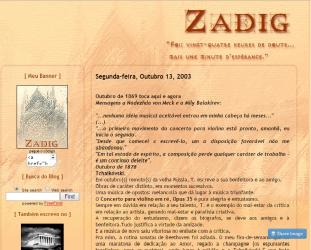 Blog do Zadig