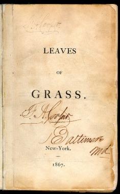Fronstispício da edicao de 1867 de Folhas da Relva_Whitman