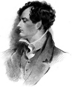 DesenhoPerfil_Lord_Byron_Poetry_Volume_4_frontispiece