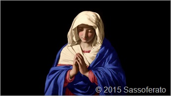 Pintura_Sassoferrato-The-Virgin-in-Prayer MilleChristi