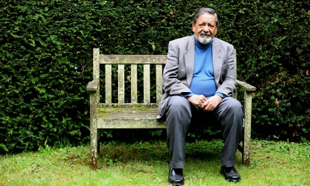 Novelist and travel writer VS Naipaul