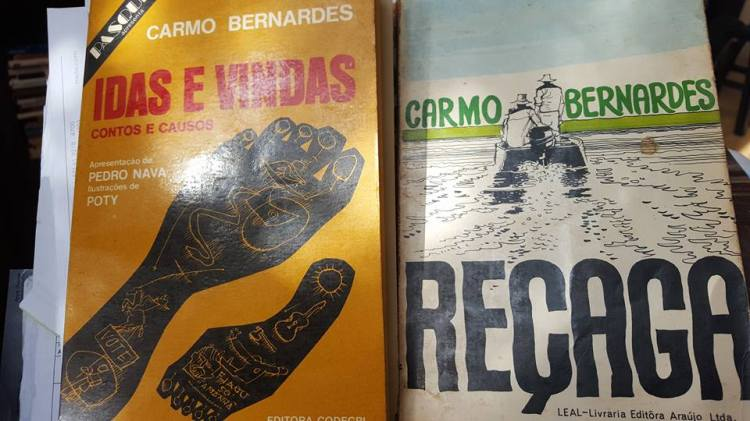 Capas Livros CarmoBernardes