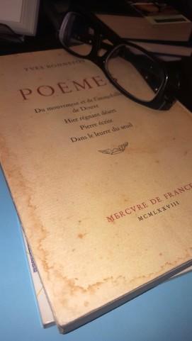 Mercure de France, Y Bonnefoy