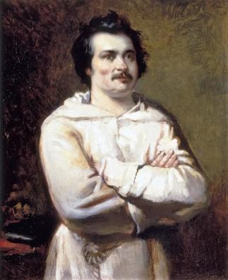Balzac em traje de monge