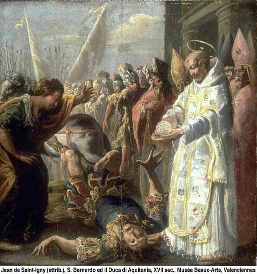 São Bernardo de Claraval (cenas e milagres da vida do santo)