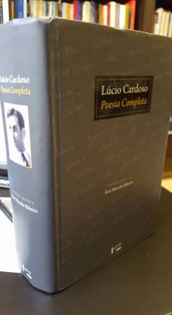 Capa Poesia Completa Lúcio Cardoso