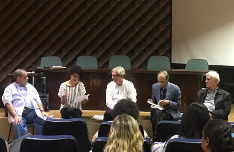 Sarau no Coloquio de Poesia 2017