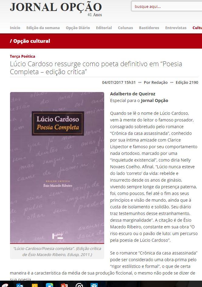 Capa artigo sobre Esio_Lúcio Cardoso.JPG