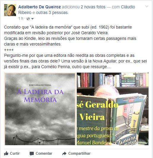 Capas de José Geraldo Vieira_60 e 70