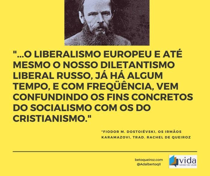 Dostoiévski sobre Cristianismo e Socialismo