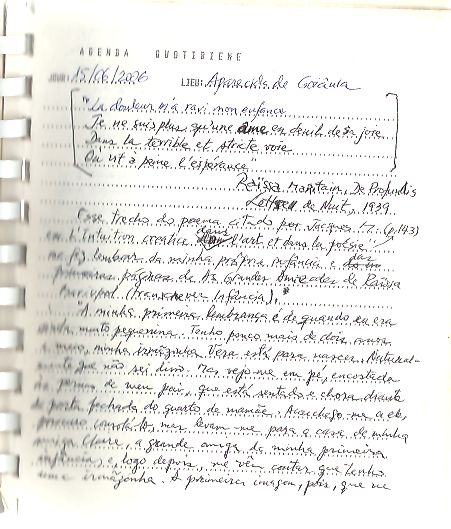 Leitura de Raissa Maritain, De Profundis
