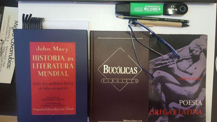 Livros sobre poesia grega e latina
