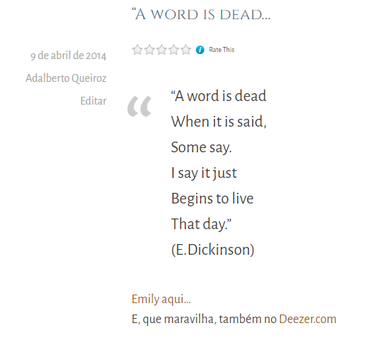 Emily Dickinson_A word is dead