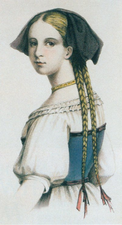friederike-brion-color-lithograph-after-drawing-of-george-engelbach
